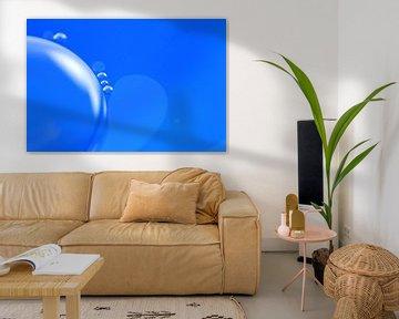 Blue Globe van Marcel van Rijn