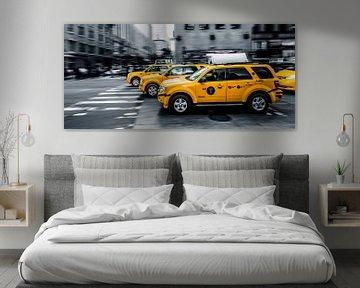 "New York  ""Yellow cab"" van John Sassen"
