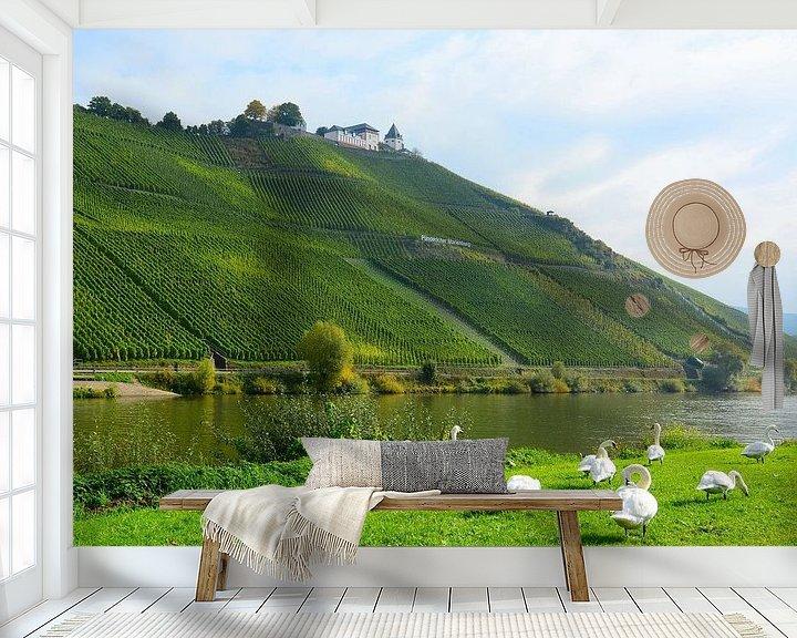 Sfeerimpressie behang: Puenderich van Gisela Scheffbuch