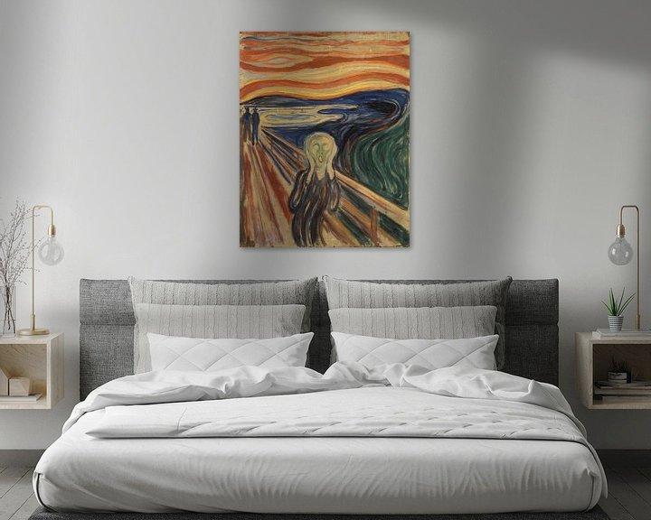 Beispiel: Der Schrei (Edvard Munch)