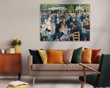 Bal du moulin de la Galette - Pierre-Auguste Renoir