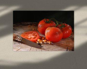 Tomaten in de keuken van Rolf Pötsch