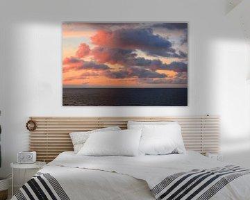 Last sun over the sea van Gisela Scheffbuch