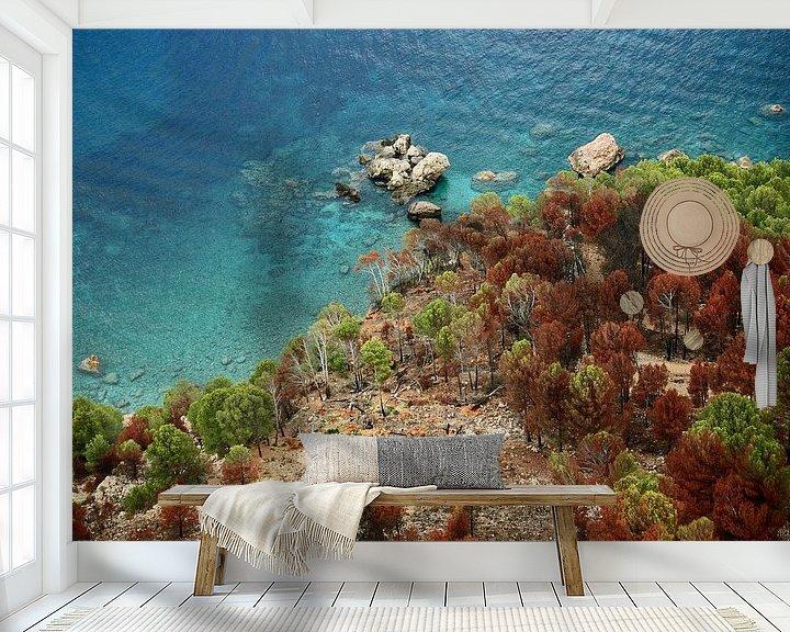 Sfeerimpressie behang: [mallorquin] ... clear blue sea van Meleah Fotografie