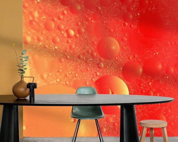 Sfeerimpressie behang: Space van Marcel van Rijn