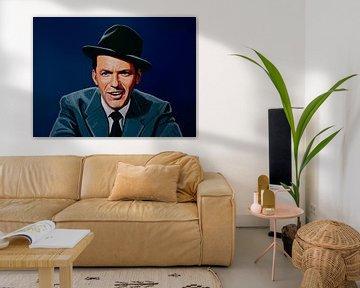 Frank Sinatra schilderij von Paul Meijering