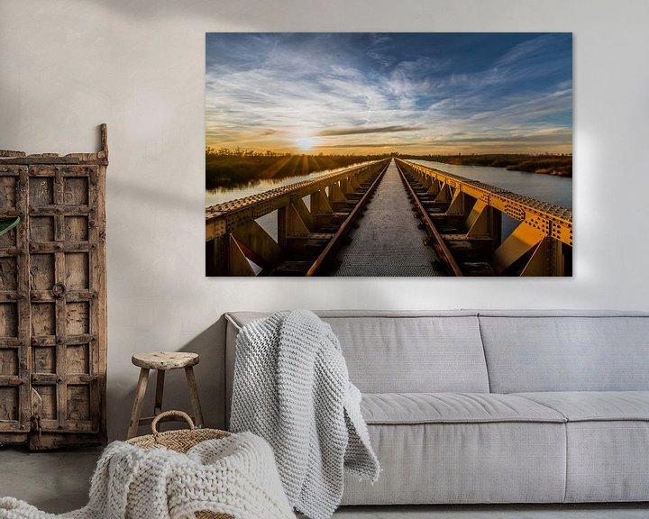 Sfeerimpressie: De Moerputtenbrug in Den Bosch van MS Fotografie | Marc van der Stelt