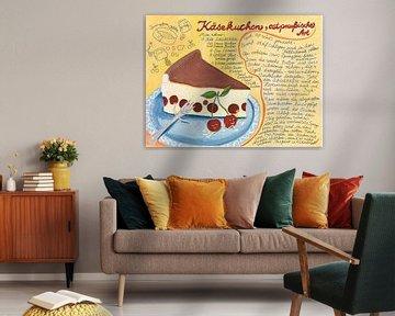Käsekuchenrezept van Dorothea Linke
