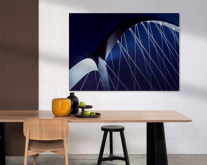 Sfeerimpressie: Crossing blue van Maerten Prins