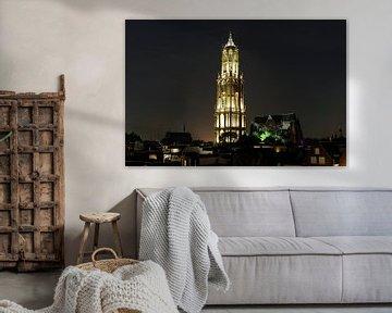 Innenstadt mit Domturm und Domkirche in Utrecht