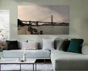 Golden Gate Bridge - San Francisco  von Josina Leenaerts