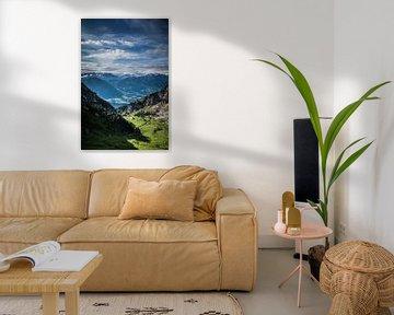 Alpen Dal von Studio  Milaan