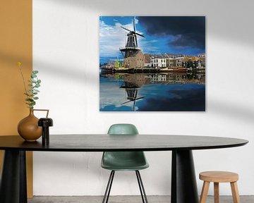 De Adriaan Haarlem in omweer