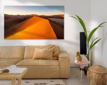 Zandduinen van Namibie von Peter Vruggink