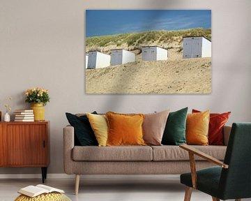 Strandhuisjes Texel van Marieke Borst