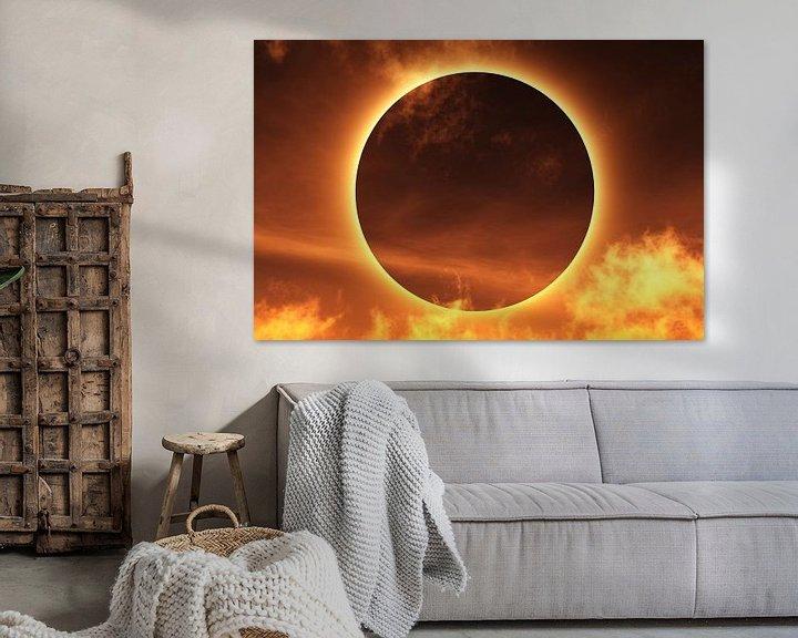 Sfeerimpressie: Totale zonsverduistering van Max Steinwald
