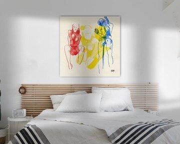 Who's Afraid of Red, Yellow and Blue 2 von Pieter Hogenbirk
