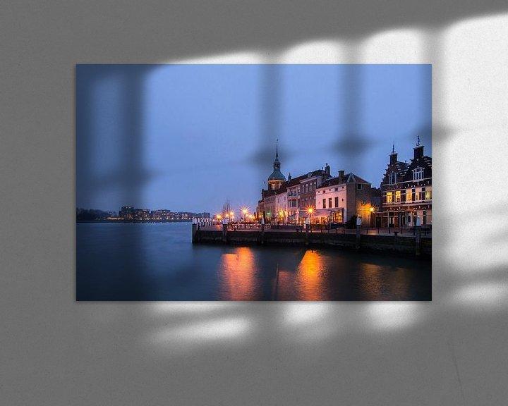 Sfeerimpressie: Groothoofd Dordrecht van Jan Koppelaar