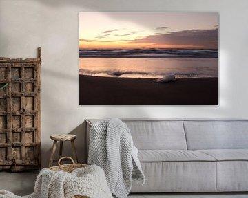 Zonsondergang aan de kust van Mkview Fotografie