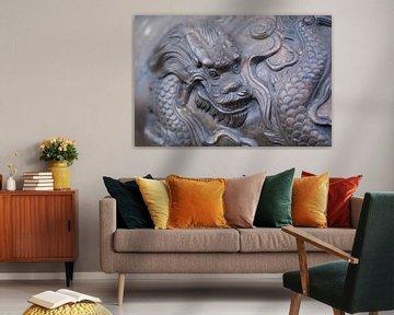 Dragon face sur Arkadiusz Kurnicki