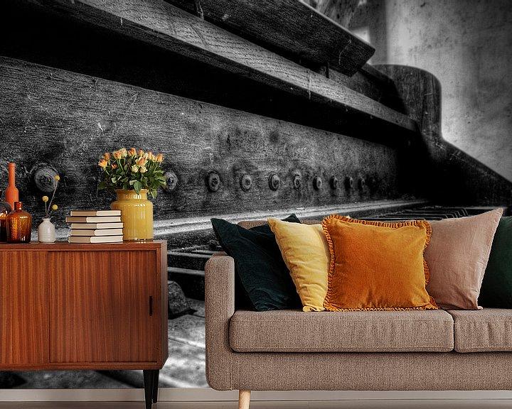 Sfeerimpressie behang: Piano van Carina Buchspies