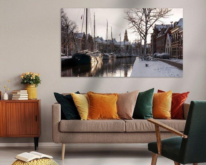 Impression: Hiver à Groningen (Hoge der A) sur Frenk Volt