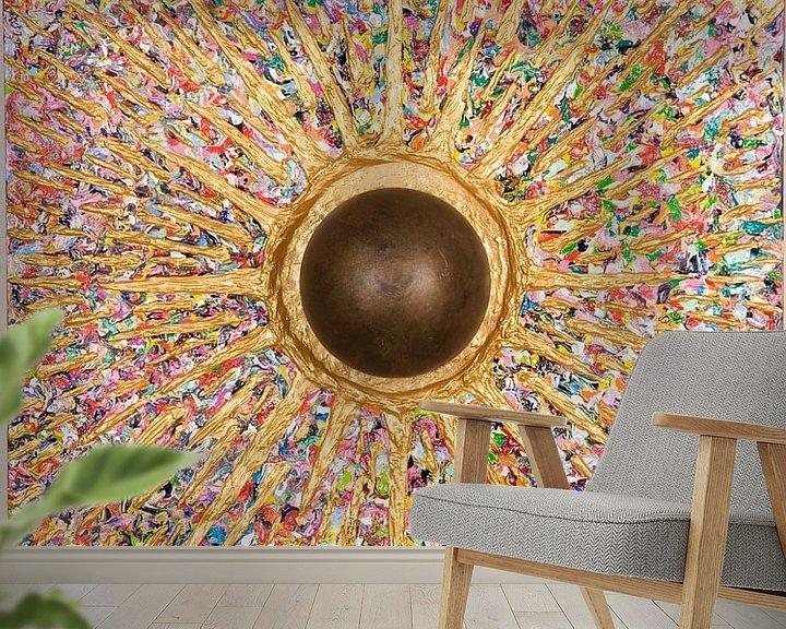 Beispiel fototapete: Mandala  Urknall von Ralf Hasse