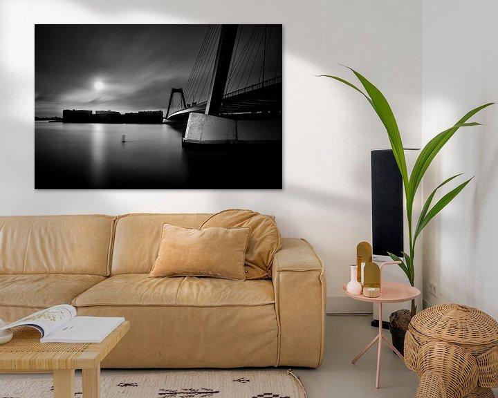 Beispiel: Rotterdam, Bridge to the island von 010 Raw