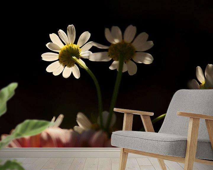 Sfeerimpressie behang: [gänseblümchen] - ... they belong together van Meleah Fotografie