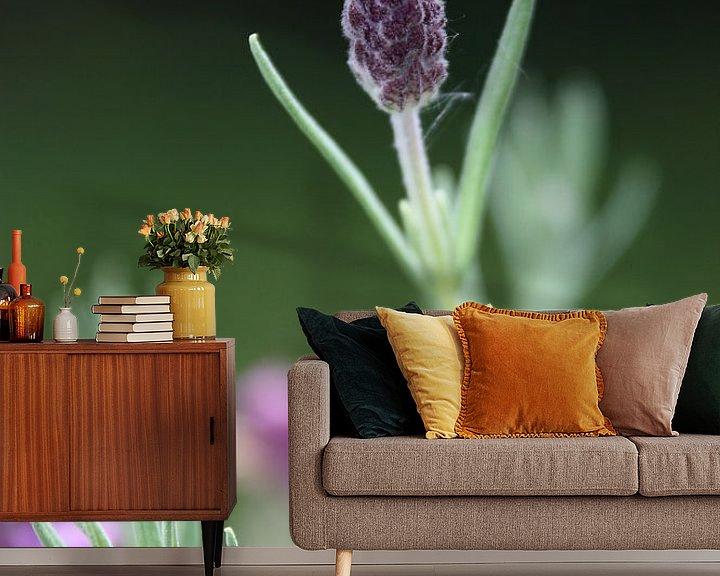 Sfeerimpressie behang: Lavendel van Meleah Fotografie