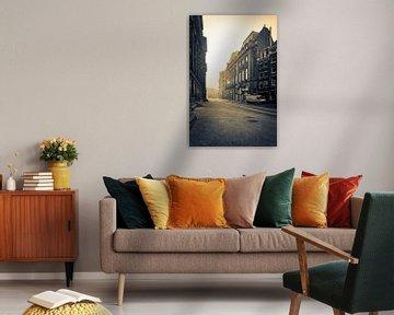 Paleisstraat Amsterdam van Wesley Flaman