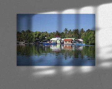 Eau Village Indonésie sur Ruud Wijnands