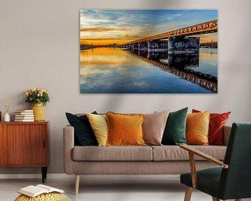 De Moerputtenbrug in Den Bosch van MS Fotografie | Marc van der Stelt