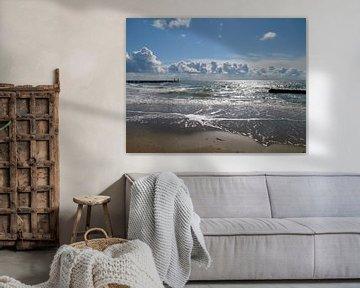 Hier aan de kust, de Zeeuwse kust van Groothuizen Foto Art