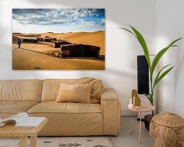 Nomadenkamp von Peter Vruggink
