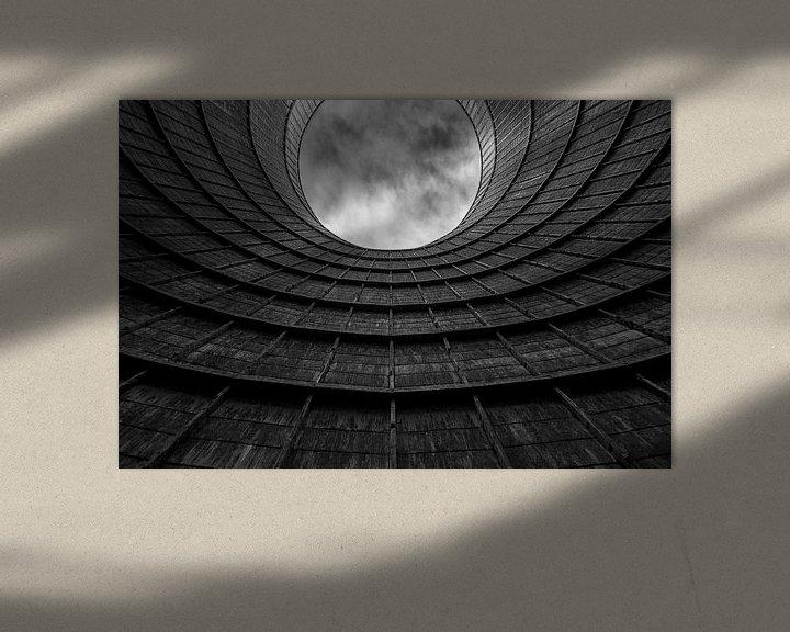 Sfeerimpressie: Cooling tower van Ben van Sambeek