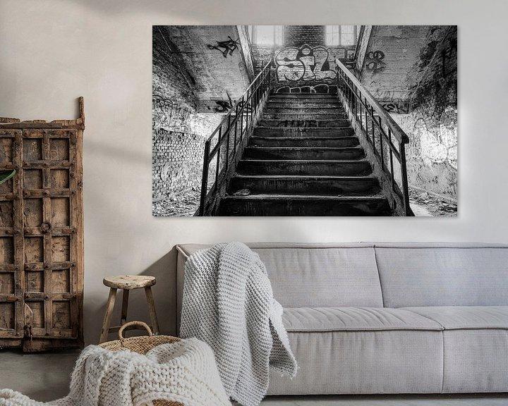 Sfeerimpressie: Stairs van Ben van Sambeek