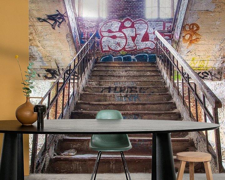 Beispiel fototapete: Stairs von Ben van Sambeek