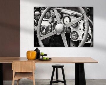 Bentley voiture de course tableau de bord  sur Sjoerd van der Wal