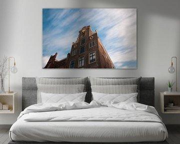 Long exposure van pakhuis in Dordrecht van Thomas Poots