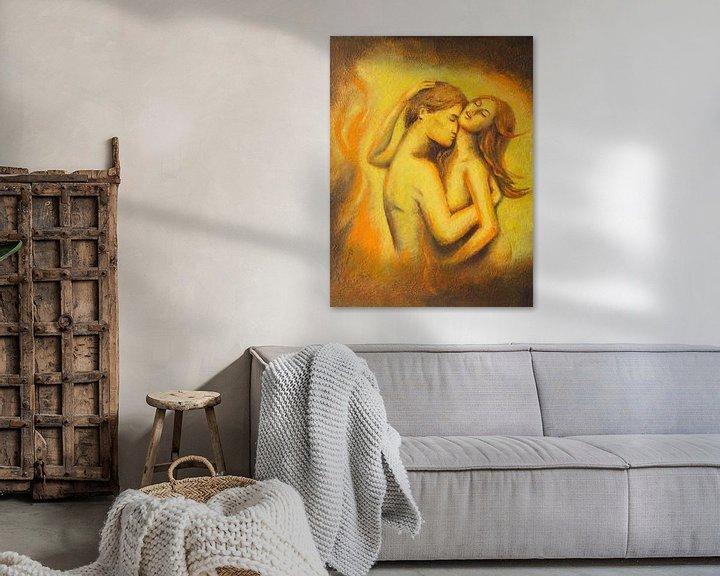 Sfeerimpressie:  Blazing Love - erotische koppels van Marita Zacharias