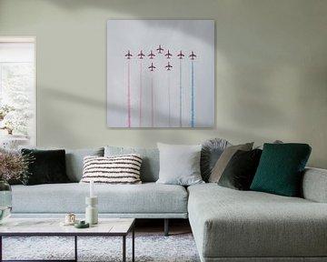 Airshow 2 (Red Arrows) von John Ouwens