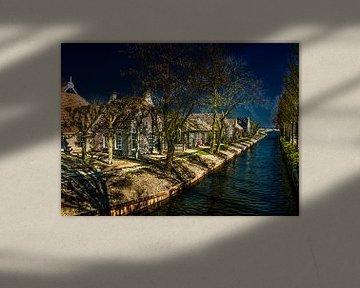 het Friese dorpje Olde Leije van Harrie Muis