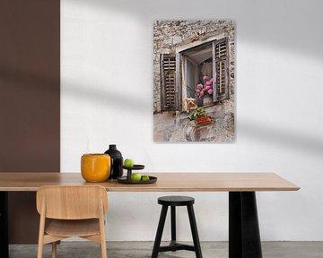 Window with flowers van Gunter Kirsch