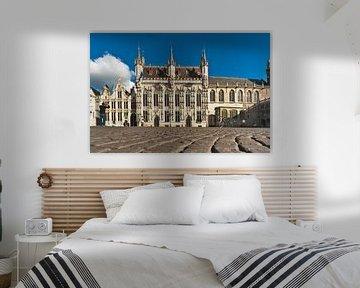 town hall Bruges van Gunter Kirsch