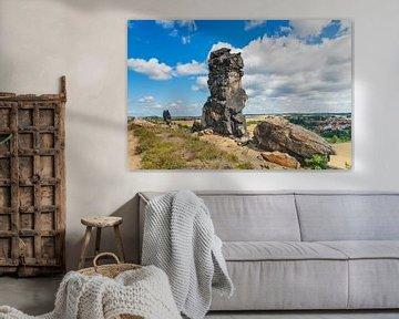 Devil's Wall, Harz district van Gunter Kirsch