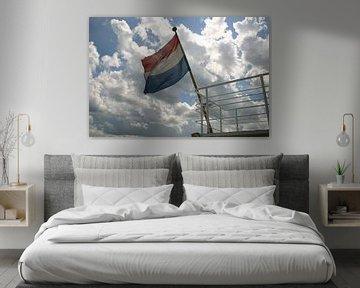 Nederlandse vlag van EnWout