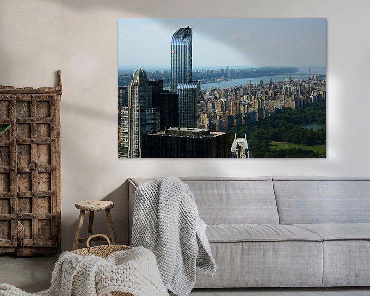 Sfeerimpressie: new york city ... concrete jungle II van Meleah Fotografie