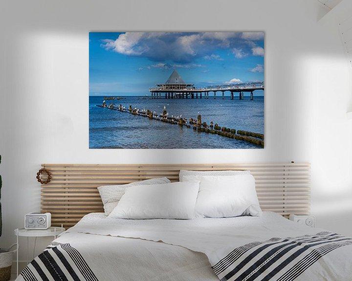 Sfeerimpressie:  Heringsdorf Pier, Germany van Gunter Kirsch