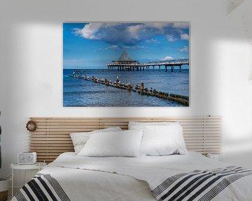 Heringsdorf Pier, Germany van Gunter Kirsch